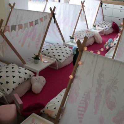 onvergetelijke slaapfeestjes Parties&Pillows